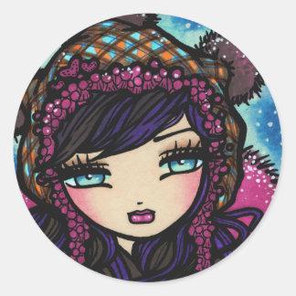 """Heart of Ice"" Fairy Stickers"