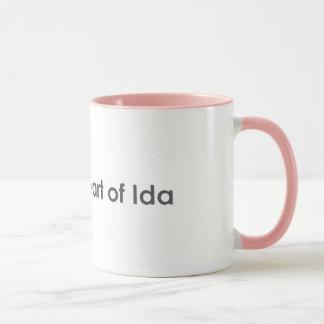 Heart of Ida Mug
