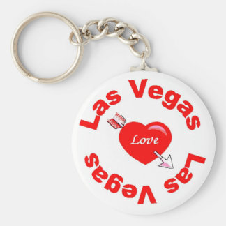 Heart of Las Vegas Keychain