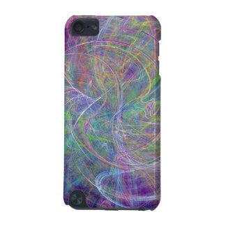 Heart of Light – Aqua Flames & Indigo Swirls iPod Touch 5G Covers