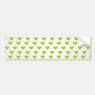 Heart of Love Bumper Sticker