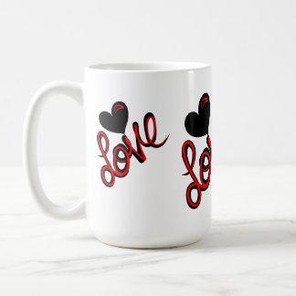 Heart of Love Classic White Coffee Mug