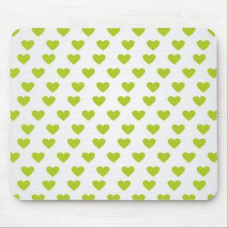 Heart of Love Mousepads