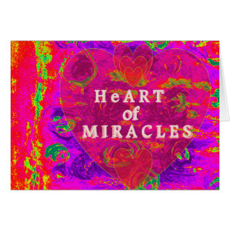 HeArt of Miracles Card