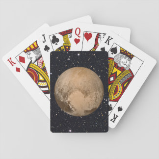 Heart of Pluto Starry Sky Playing Cards