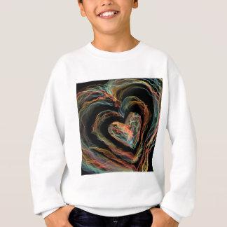 Heart of rainbow fire sweatshirt