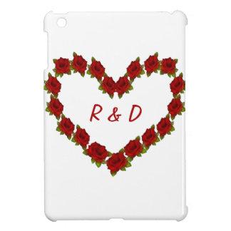 Heart of roses iPad mini case