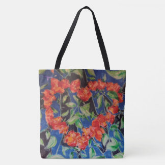 Heart of Roses Tote Bag