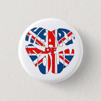 Heart Of Soul Union Jack Button