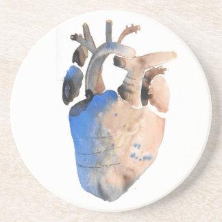 Heart of Stone Coaster