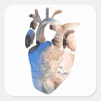 Heart of Stone Square Sticker