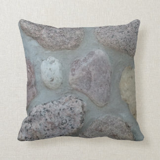Heart of Stone Throw Pillow
