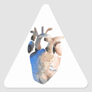 Heart of Stone Triangle Sticker