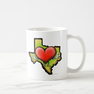 Heart of Texas Coffee Mug