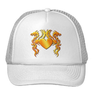 HEART OF THE DRAGONS MESH HAT