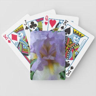 Heart of the Iris Poker Deck