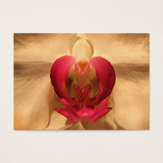 Heart of the Orchid ATC Business Card