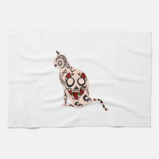 Heart of the Skull Kitchen Towel