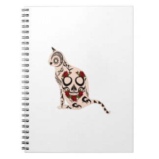 Heart of the Skull Spiral Notebook