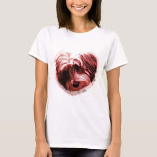 Heart of the Tibetan Terrier T-Shirt