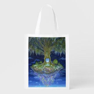 """Heart of the Tree"" Reusable Bag Grocery Bag"
