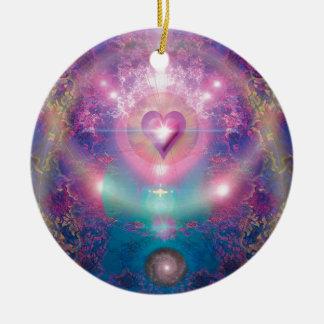 Heart of the Universe Ceramic Ornament