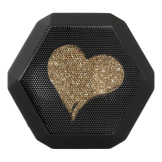 Heart O'Gold Black Bluetooth Speaker