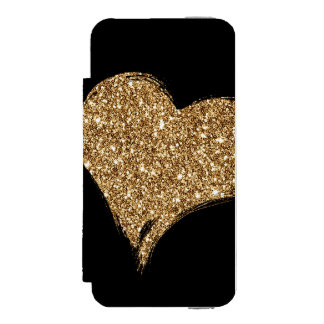 Heart O'Gold Incipio Watson™ iPhone 5 Wallet Case