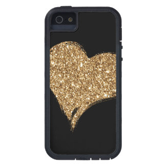 Heart O'Gold iPhone 5 Case