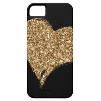 Heart O'Gold iPhone 5 Cover