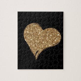 Heart O'Gold Jigsaw Puzzle
