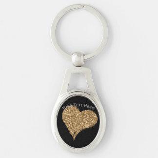Heart O'Gold Keychain