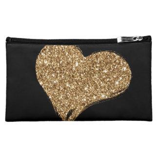 Heart O'Gold Makeup Bag