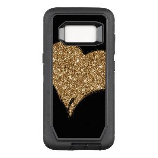 Heart O'Gold OtterBox Defender Samsung Galaxy S8 Case