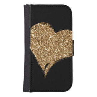Heart O'Gold Samsung S4 Wallet Case