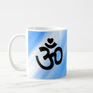 Heart Om Sign - Mug for Yoga Lovers