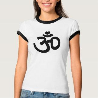 Heart Om Sign - Yoga T-Shirt