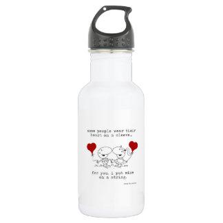 Heart on a String Drink Bottle