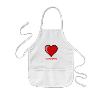 Heart Paint Smock! Kids Apron