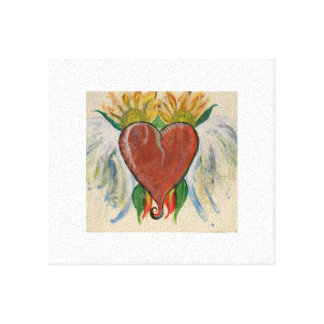 heart painting print