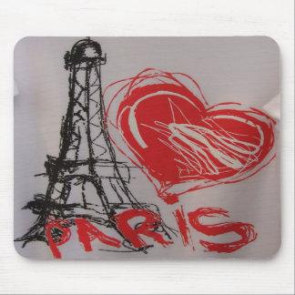 Heart Paris Mousepad