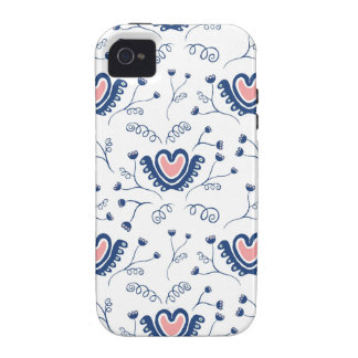 """Heart Pattern"" iPhone 4/4S Cases"