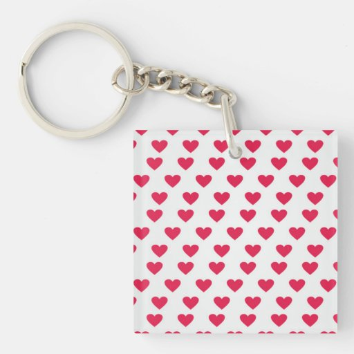 Heart Pattern Keychain