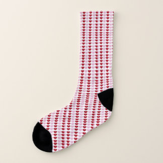 heart pattern socks