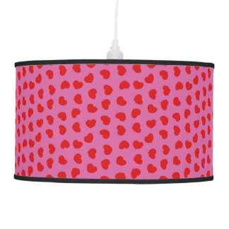Heart Patterned Pendant Lamp