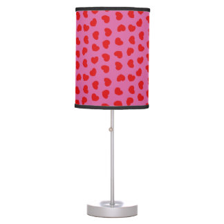 Heart Patterned Table Lamp