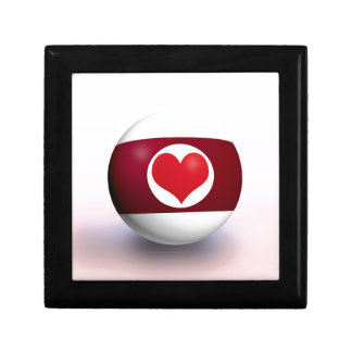 Heart Pool Ball Gift Box