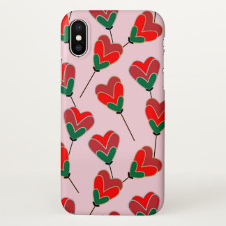Heart Pops iPhone X Case