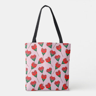 Heart Pops Tote Bag
