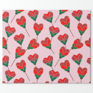 Heart Pops Wrapping Paper